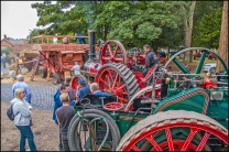 Heritage Weekend 2015 - Thresher in Action