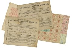 WW1 Ration books