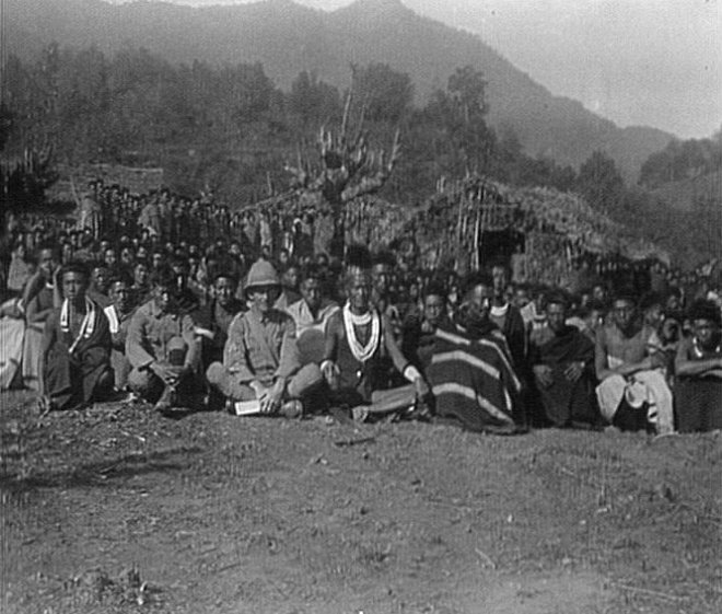 Men of the Manipur Labour Corps