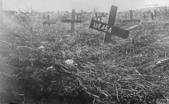 Military Cemetery Austro Hungarian Soldiers © IWM (Q 86467)