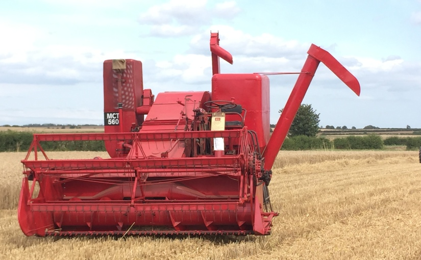 Re-siting the combine…