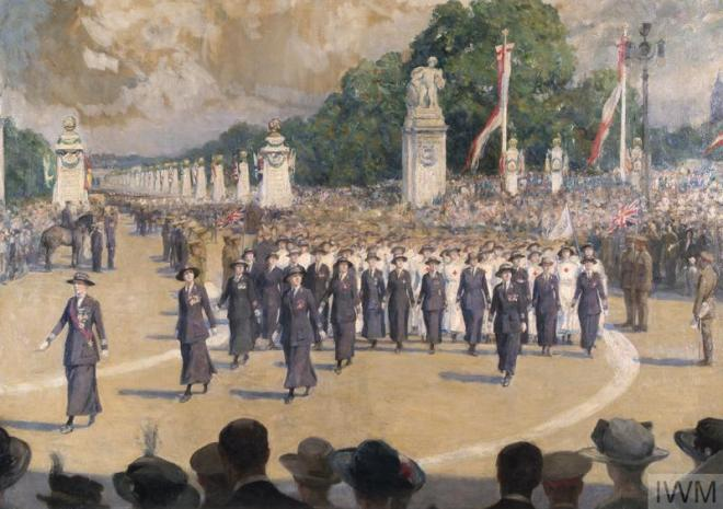 July 1919 VAD procession