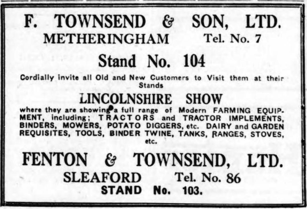 1931 Fenton Townsend
