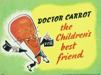 Doctor Carrot the Children's Best Friend Art.IWMPST8105