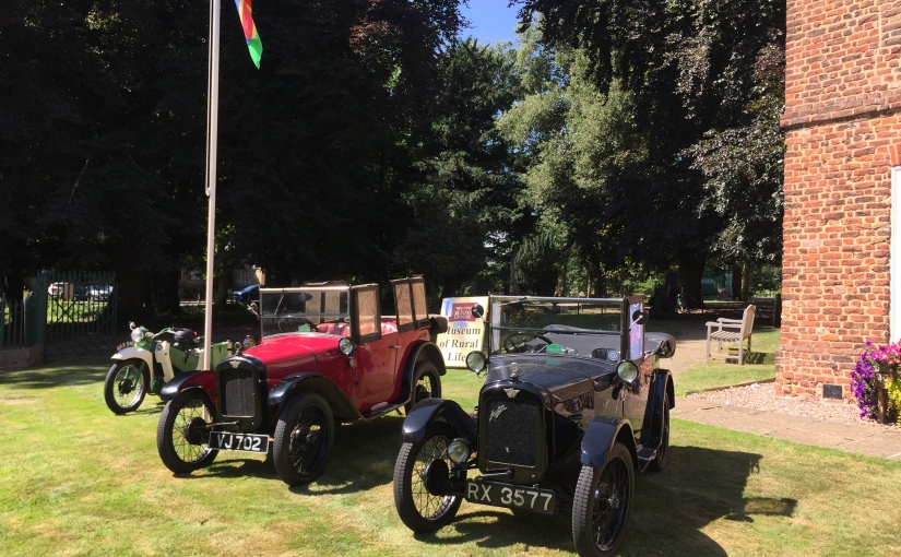 Historic Vehicle Day: Sunday 13th September : 10am to4pm